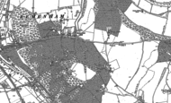 Old Map of Remenham Hill, 1910