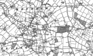 Old Map of Rendham, 1882 - 1883
