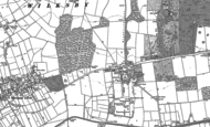 Old Map of Revesby, 1887