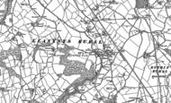 Old Map of Rhewl, 1899 - 1910