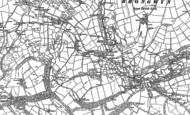Old Map of Rhippinllwyd, 1904