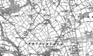 Old Map of Rhiwbina, 1915