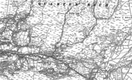 Old Map of Rhosaman, 1885 - 1905