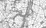 Old Map of Rhosygilwen, 1888 - 1904