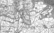 Old Map of Rhyd-y-foel, 1911