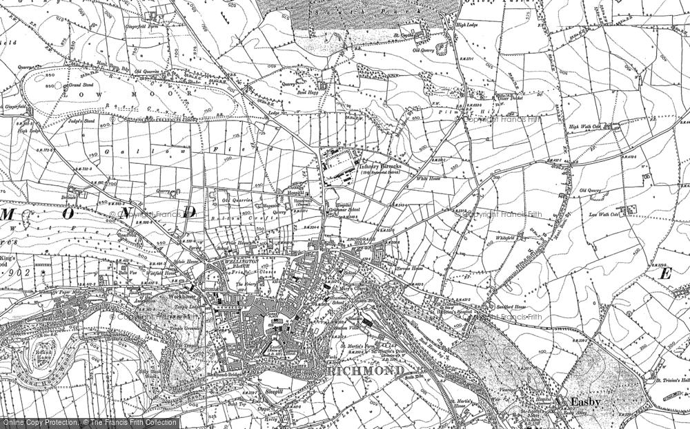 Map of Richmond, 1892