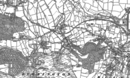 Old Map of Rickford, 1883 - 1884