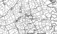 Old Map of Ridleywood, 1909