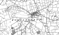 Old Map of Ridlington, 1884 - 1902