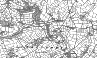 Old Map of Rillaton, 1882