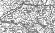 Old Map of Rimington, 1907