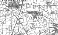 Old Map of Rimpton, 1885 - 1901