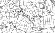 Old Map of Rimswell, 1908