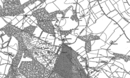 Old Map of Ringshall, 1897 - 1923