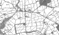 Old Map of Riplingham, 1888 - 1889