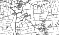 Old Map of Riston Grange, 1889 - 1892