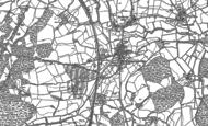 Old Map of Robertsbridge, 1897 - 1908
