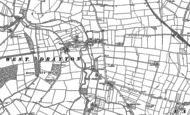 Old Map of Rockley, 1884