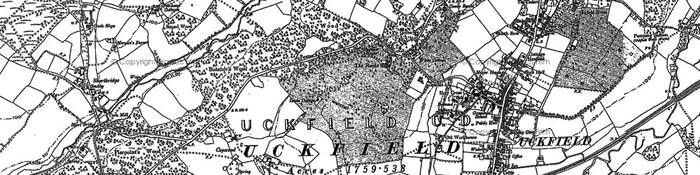Old map of West Park in 1898