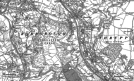 Old Map of Rodborough Common, 1882