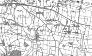 Old Map of Rodden, 1901