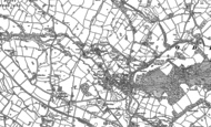 Old Map of Rode Heath, 1897 - 1908