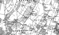 Old Map of Rodmersham, 1896