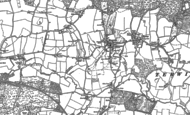 Old Map of Rogate, 1896 - 1910