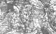Old Map of Rooksmoor, 1882