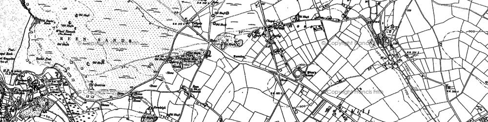 Old map of Lower Rose in 1906