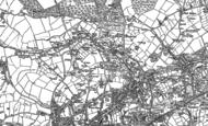 Old Map of Roskear Croft, 1888
