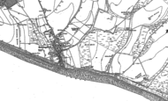 Old Map of Rottingdean, 1909