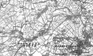 Old Map of Roughlee, 1891 - 1910