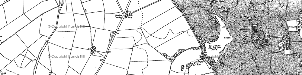 Old map of Boothville in 1884