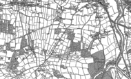 Old Map of Roundswell, 1886 - 1887