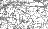 Old Map of Roundthorn, 1897