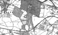 Old Map of Royal British Legion Village, 1895 - 1896