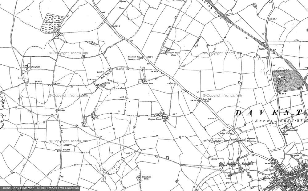 Old Maps of Royal Oak Industrial Estate Francis Frith