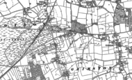 Old Map of Roydon, 1884
