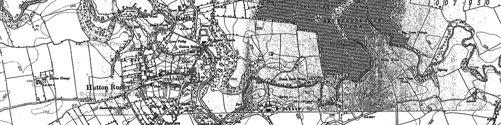 Old map of Windy Hill in 1892