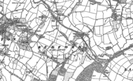Old Map of Rudford, 1882 - 1883