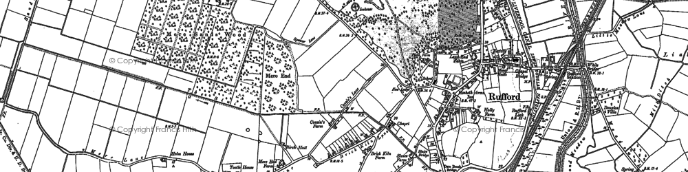 Old map of White Br in 1892