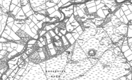 Old Map of Ruffside, 1895