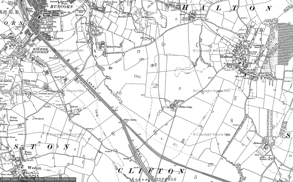 Old Maps of Runcorn Francis Frith