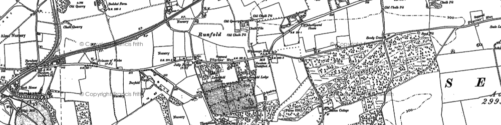 Old map of Barfield (sch) in 1913