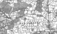 Old Map of Rye Foreign, 1908