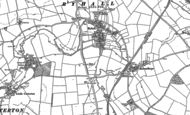 Old Map of Ryhall, 1903