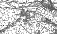 Old Map of Ryton, 1914