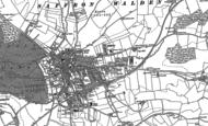 Old Map of Saffron Walden, 1896
