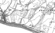 Old Map of Saltdean, 1898 - 1909